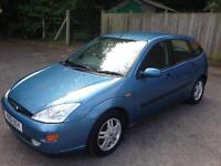 Ford Focus 1.8 long mot with tow bar