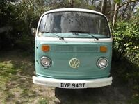 VW T2 BAY WINDOW 1979. NEW ENGINE LATE 2016. RECENT RESPRAY. MOT and TAXED.