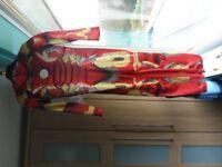 Superhero Iron Man Costume with Mask