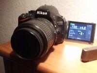 Nikon 5100 SLR Camera