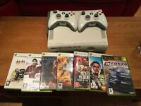 XBox 360 Good Condition, with 2 Controller and Games