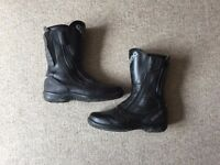 Daytona Road Star Gtx mens motorcycle boots size 43