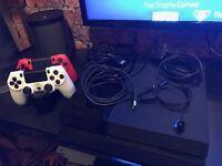 Sony PS4, Jet Black 500gb & 2 games