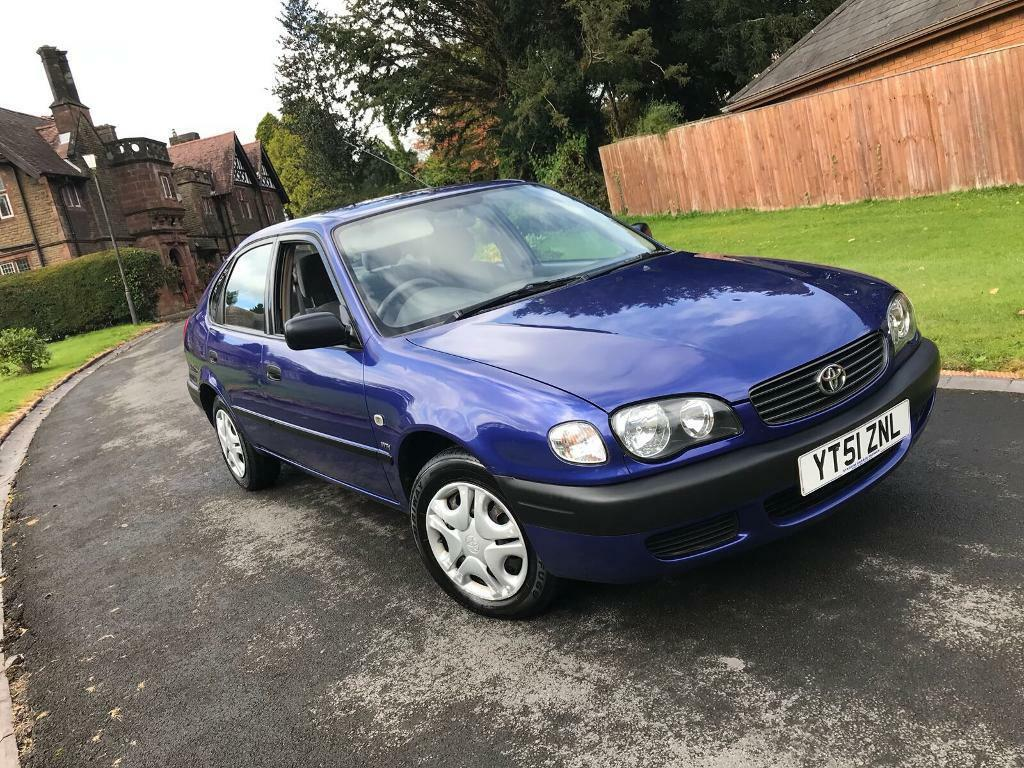 51 TOYOTA CAROLLA S 1.6 AUTOMATIC ** 15 SERVICE STAMPS