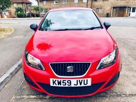 Seat ibiza 1.0 10 month mot 2010 plate very reliable car £1595