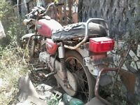 Wanted all motor bikes collected for free