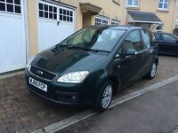 Ford Focus C Max Ghia 2l Tdi green. 11 months MOT. Great spacious family car with big boot.