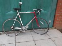 RALEIGH, Racing Bike , Large Frame, 700c Alloy Wheels, New Parts, SERVICED.