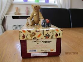 STEIFF porcelain bear by Enesco - as new condition
