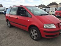 Vw sharan 1.9 TDI 6 spead gearbox