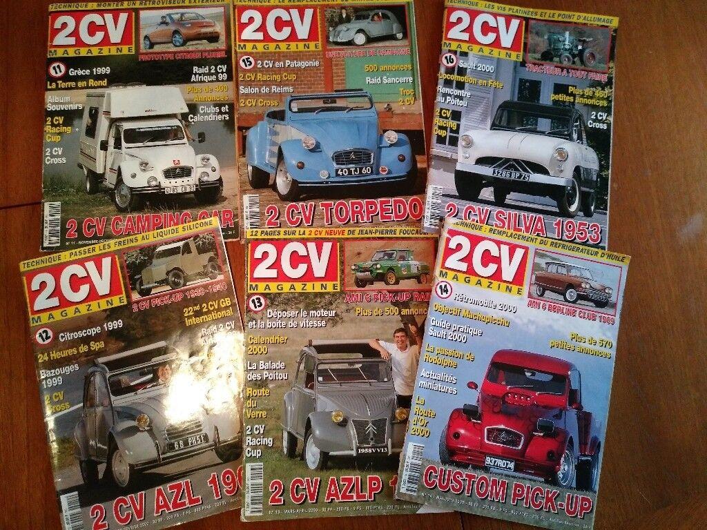 2CV magazines - Used
