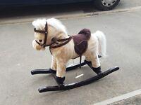 Rocking horse with side saddle.Child age 2-5 y.o.