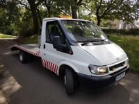 FORD TRANSIT RECOVERY TRUCK 2.4 DIESEL TRANSPORTER