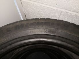 Set of 4 Michelin tyres (245/45/18R)