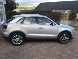 Audi Q3, 62 plate with very low mileage and high spec, excellent condition. **reduced now £14,200**