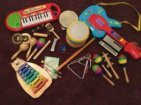 Toy musical instruments