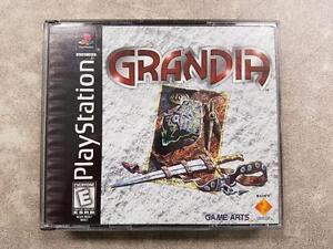 Grandia Sony PS1 Game