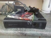 xbox 360 hdmi 20gb hd one controller one game fully working order .