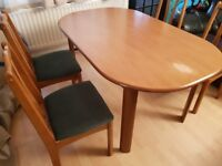 Dining table and 4 chairs. FREE delivery in Derby