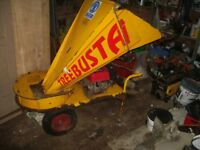 Large and powerful Entec tree busta shredder.