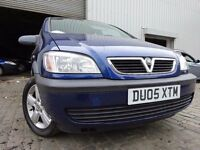 05 VAUXHALL ZAFIRA 1.8, 7 SEATER MPV,MOT APRIL 017,3 OWNERS,PART HISTORY,2 KEYS,STUNNING EXAMPLE