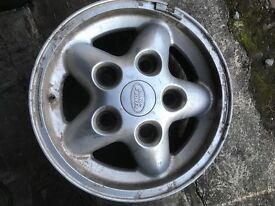 Land Rover defender alloy wheels