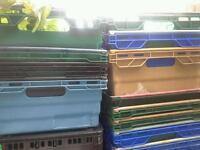 Joblot job lot bale arm nesting stacking crates