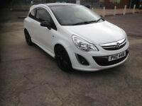 2012 Vauxhall corsa limited edition diesel