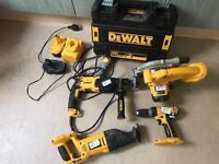 Dewalt power tools set, all working order