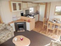 LOVELY AND MODERN STATIC CARAVAN FOR SALE - LIKE NEW! PE31 7BD Nr Hunstanton. Site fees included