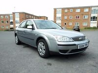 Low mileage Ford Mondeo LX 1.8 with 10m MOT & 11 service stamps