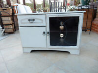 Shabby Chic Wooden TV Cabinet