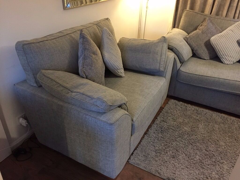 Next Extra Large Sofa Snuggle Excellent Condition