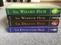 Cinda Chima: 4 of The Heir Chronicles Novels: Warrior Heir, Dragon Heir, Wizard Heir, Enchanter Heir