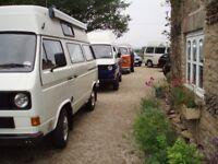 V W CAMPER VAN's & MOTORE HOME's SEARCHING or SELLING
