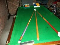 slatebed snooker table