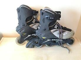 SALOMON rollerblades AS NEW for sale, only used 3 times!