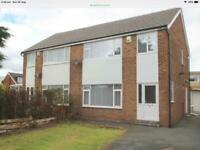 3 bedroom semi detached property Ls14 whinmoor