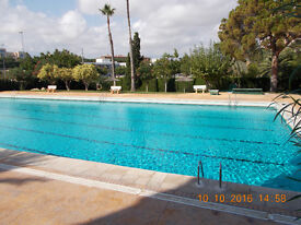 Costa Blanca , Alicante city, 2 bedrooms with swimming pool