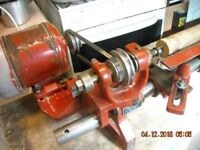 CORONET WOOD TURNING LATHE 240 V PLUS EXTRAS/PLANER/SAW TABLE READY TO PLUG IN AND GO.