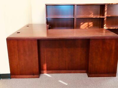 Paoli L Shaped Desk Office Furniture Computer Home Business Desks
