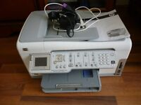 HP photosmart c7280 three in one printer,fax,copier & scanner,(not working) ideal for parts etc.....
