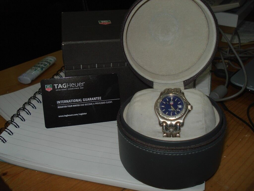 Genuine Tag Heuer Ladies SEL watch withrare blue