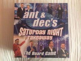 Saturday Night Takeaway Board Game (Good Condition)
