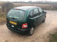 Renault scenic 1.4 long MOT new clutch, new cambelt, lots of work done