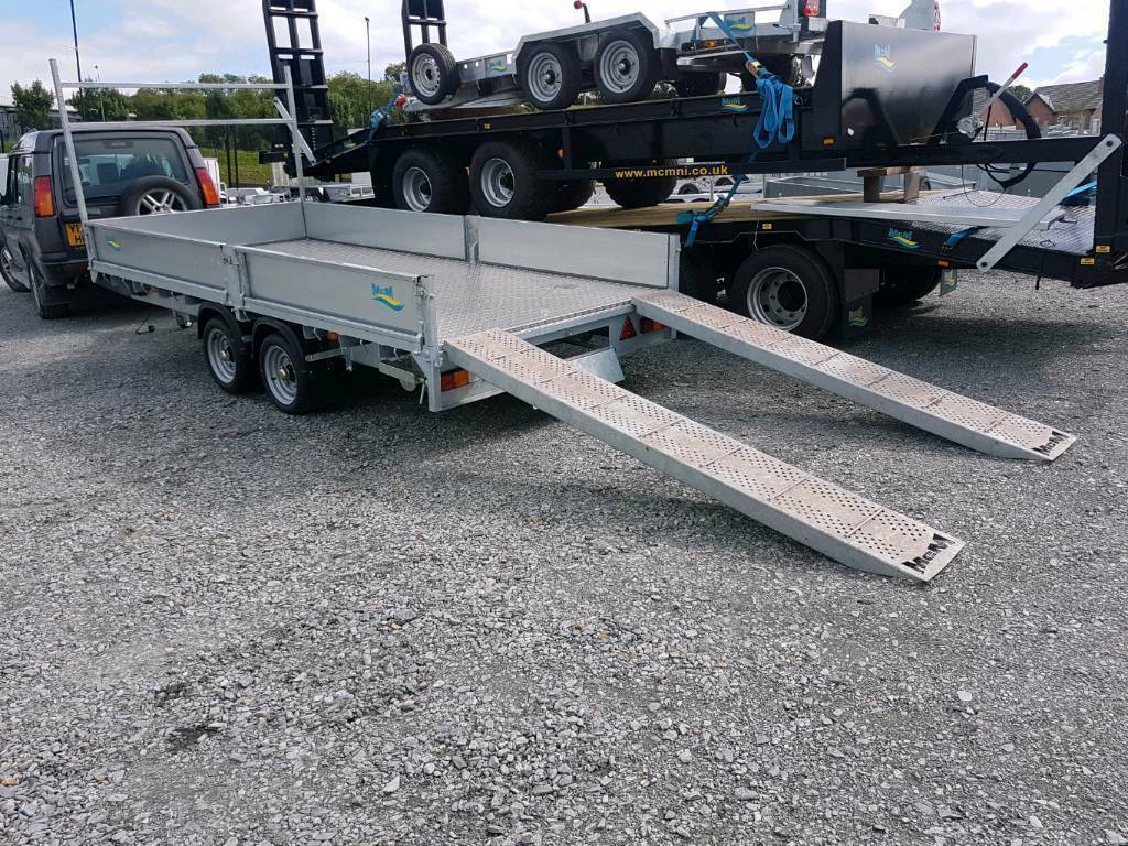 Mcm 14x6ft Builders Dropside Trailer Led Lights Loading Ramps In County Armagh Gumtree