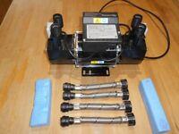 Stuart Turner Showermate Standard 1.8 bar Twin - pump 46407 £80