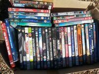 job lot x 90 dvds mixed genre