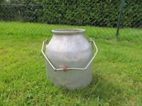 1 Vintage Milk Churn with Handle - Plant Stand / Garden