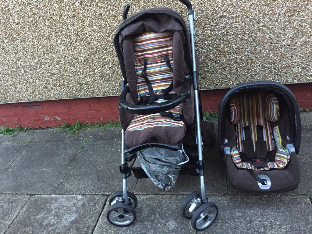 Mamas and Papas Switch pram and car seat